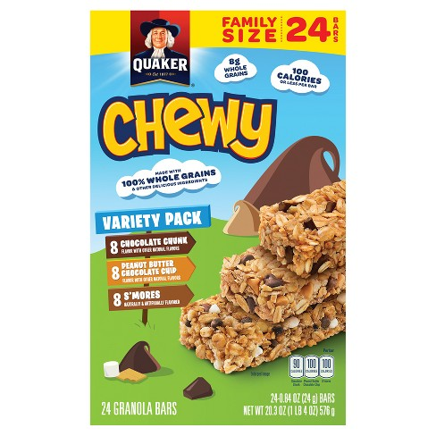 Quaker Chewy Granola Bars - 24ct - image 1 of 6