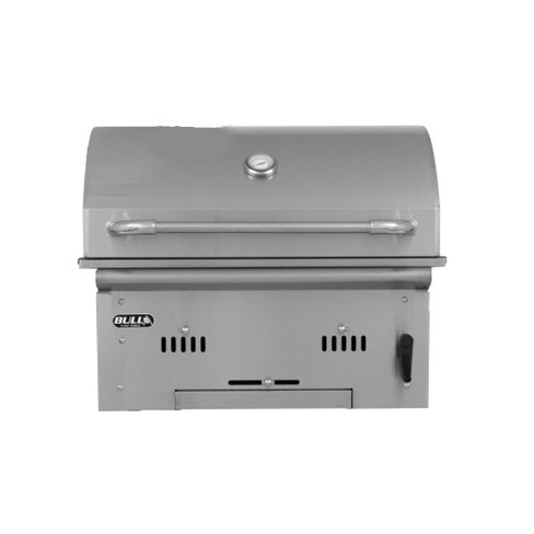 Bull Outdoor Products 210 Square Inch Rack Stainless Steel Bison Charcoal  Grill