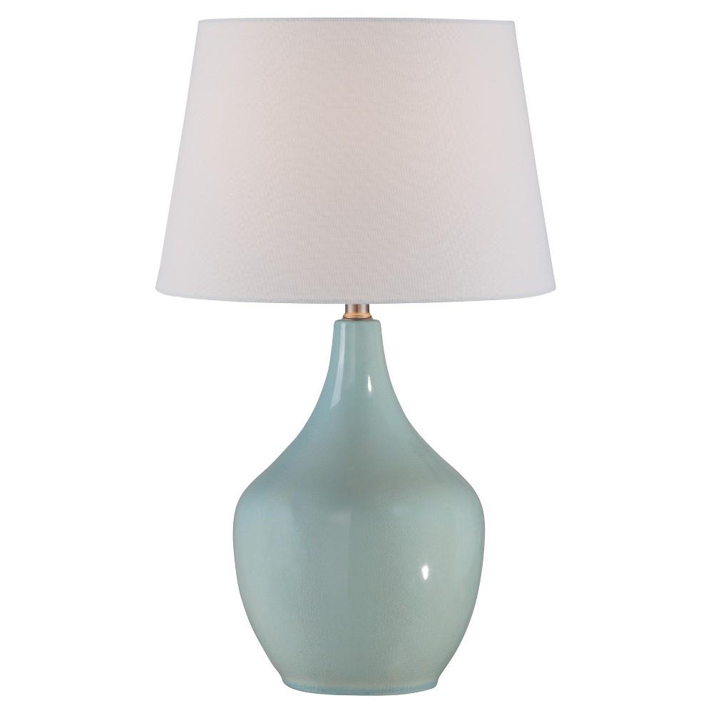 Valonia Table Lamp Light Blue (Includes Energy Efficient Light Bulb) - Lite Source
