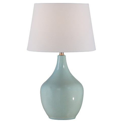 Valonia Table Lamp Light Blue (Includes Energy Efficient Light Bulb) - Lite Source - image 1 of 3