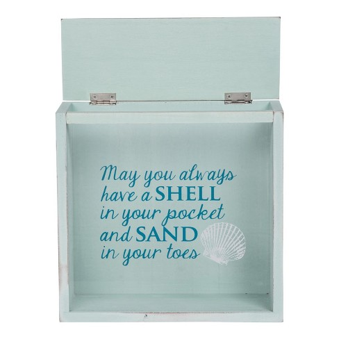 Shells And Sand Keepsake Box Foreside Home And Garden Target