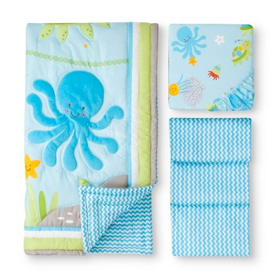 Ocean Dreams 3pc Crib Set