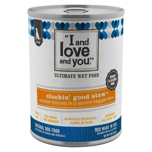 I and Love and You Canned Wet Dog Food Cluckin' Good Stew - 4pk - image 1 of 1