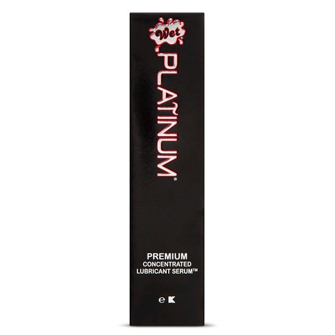 Wet Platinum Premium Latex-Free Lube Serum - 3.1oz - image 1 of 2