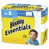 Bounty Essentials Select-A-Size White Paper Towels - 6 Big Rolls - image 2 of 4