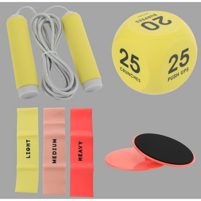 7ct Work Out Bundle Coral - Bullseye's Playground™