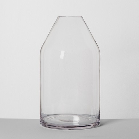 Jug Vase Large Clear Hearth Hand With Magnolia Target