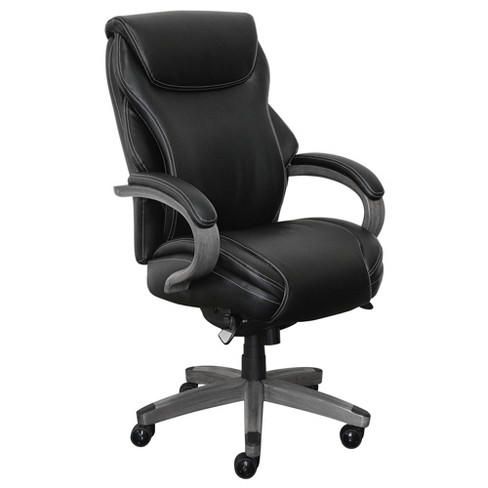 Hyland Bonded Leather & Wood Executive Office Chair - La-Z-Boy on lazy boy office chairs, big man lazy boy chairs, american seating office chairs, palliser office chairs, hickory chair office chairs, kroger office chairs, executive office chairs, aeron conference chairs, lesro office chairs, sam moore office chairs, natuzzi office chairs, barcalounger office chairs, brenton studio office chairs, disney office chairs, signature design office chairs, office depot chairs, jcpenney office chairs, monroe office chairs, basyx office chairs, art van office chairs,