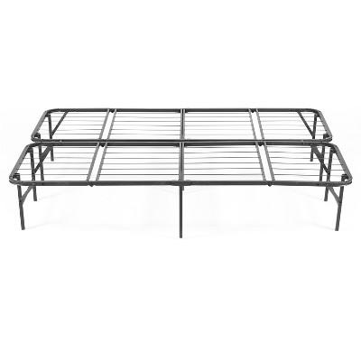 Simple Base Quad Fold Bed Frame Black - PragmaBed