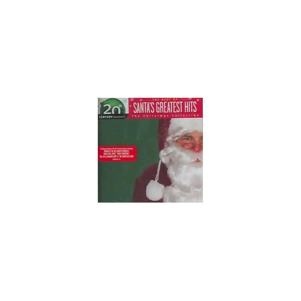 Various Artists - 20th Century Masters- The Christmas Collection: Santas Greatest Hits (CD) Top