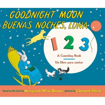 Goodnight Moon 123/Buenas Noches, Luna 123 Board Book - by Margaret Wise Brown