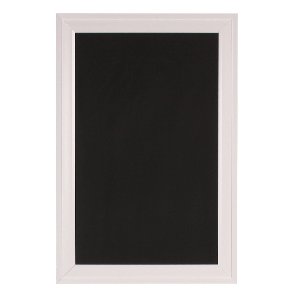 "Image of ""15"""" x 24"""" Bosc Chalkboard White - DesignOvation"""