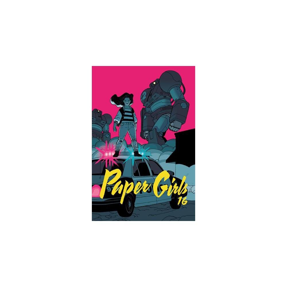 Paper Girls 4 - (Paper Girls) by Brian K. Vaughan (Paperback)