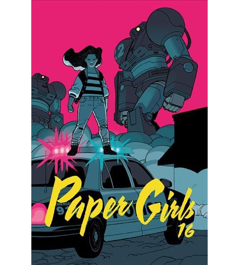 Paper Girls 4 -  (Paper Girls) by Brian K. Vaughan (Paperback) - image 1 of 1