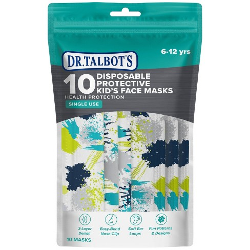 Dr Talbot S Disposable Kid S Face Masks 10ct Target