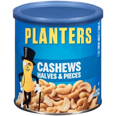 Nuts & Seeds: Planters Cashews Halves & Pieces