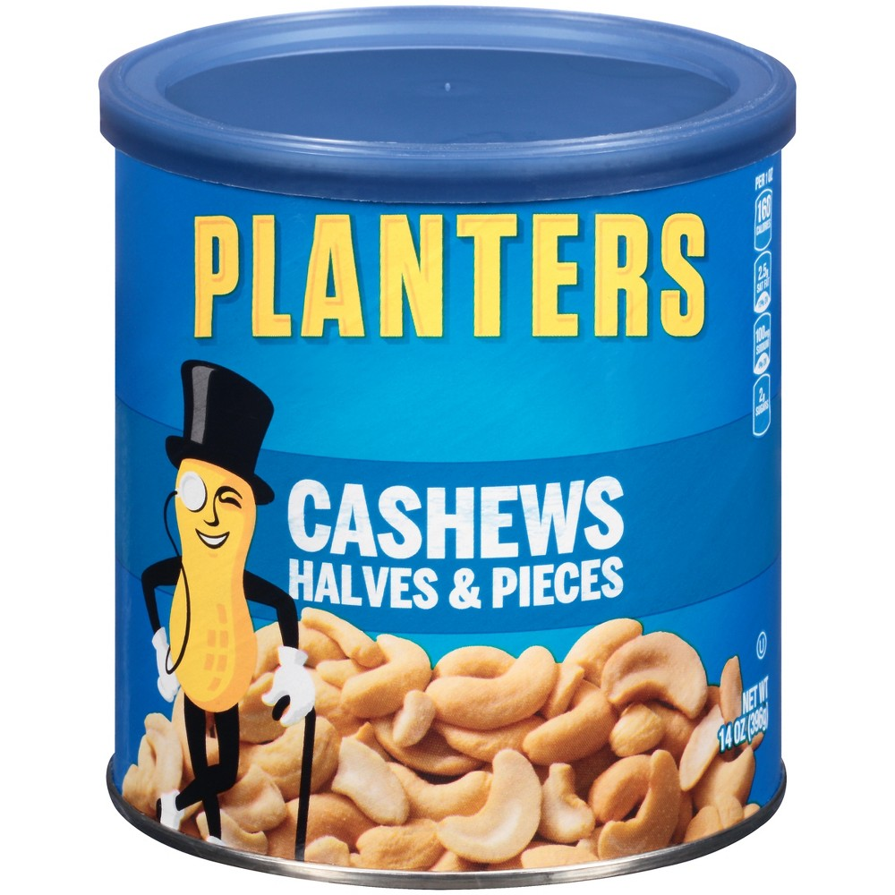 Planters Halves Andpc Cashews - 14oz