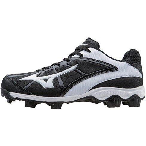 d5c2d6e79 Mizuno 9-Spike Advanced Finch Franchise 6 Softball Cleat Womens Size 6.5 In  Color Black-White (9000) : Target