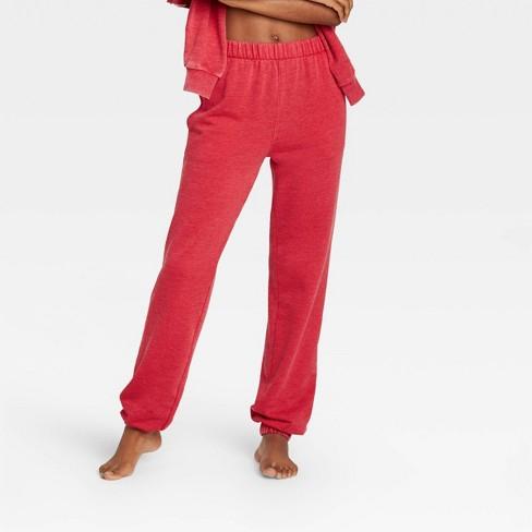 Women's Fleece Lounge Jogger Pants - Colsie™ - image 1 of 3
