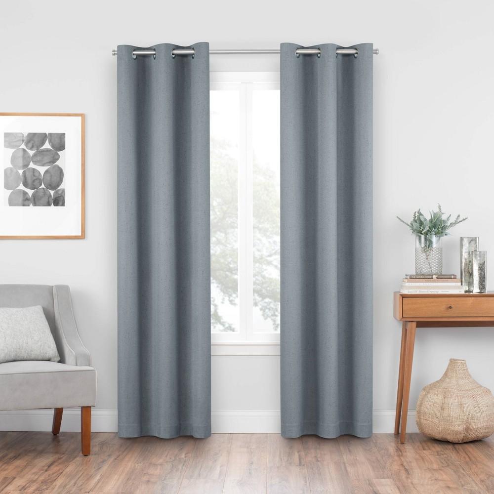 42 34 X84 34 Windsor Blackout Curtain Panel Slate Eclipse