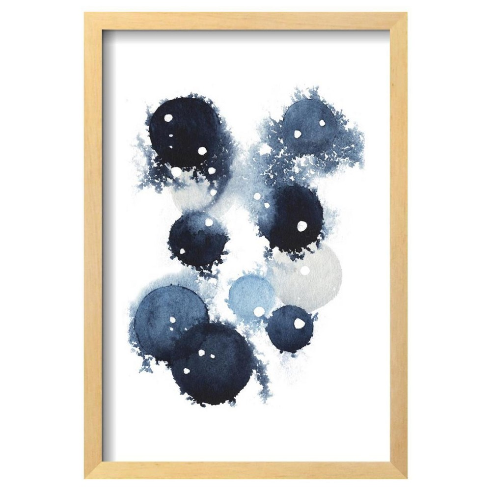 Blue Galaxy Iv By Grace Popp Framed Poster 13