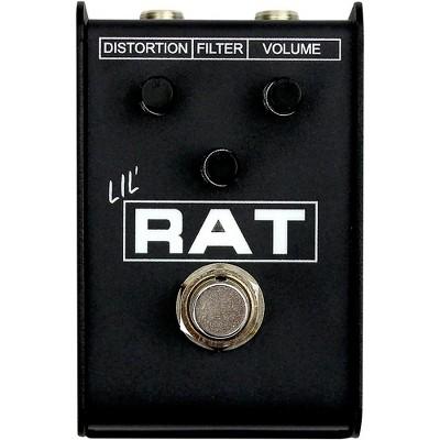Pro Co Lil' RAT Mini Distortion Effects Pedal Black