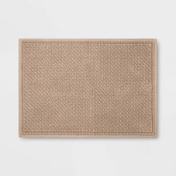 "30""x21"" Performance Solid Bath Mat - Threshold™"