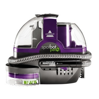 BISSELL® Spotbot® Pet Robotic Portable Upholstery and Carpet Cleaner - Purple 2114