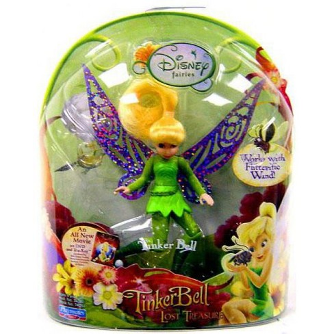 Playmates Disney Fairies Tinker Bell /& The Great Fairy Rescue Tinker Bell /& Cricket 4-Inch Figure 2-Pack