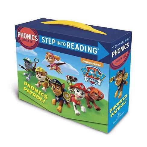 Paw Patrol Phonics Box Set - (Step Into Reading)by  Jennifer Liberts (Paperback) - image 1 of 1