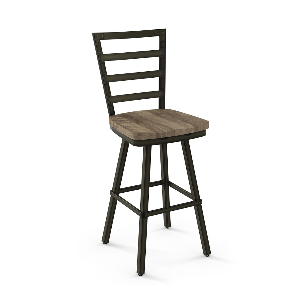 "Image of ""25.25"""" Amisco Prescot Counter Stool Beige"""