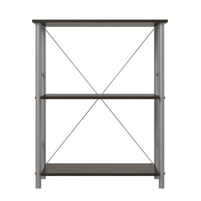 29.8  Dillon 3 Shelf Bookcase Espresso - Room & Joy