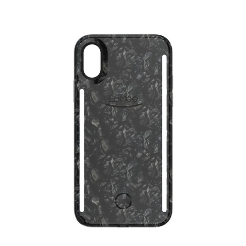 official photos f5267 c59b0 LuMee Apple iPhone X/XS Duo Case - Pearl Black