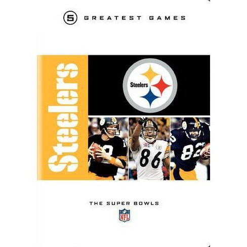 NFL Pittsburgh Steelers: 5 Greatest Games, The Super Bowls (DVD) - image 1 of 1