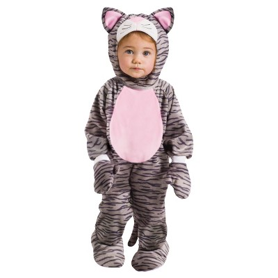 Baby Gray Stripe Kitten Halloween Costume