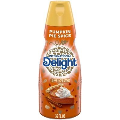 International Delight Lactose-Free Pumpkin Pie Spice Coffee Creamer - 1qt