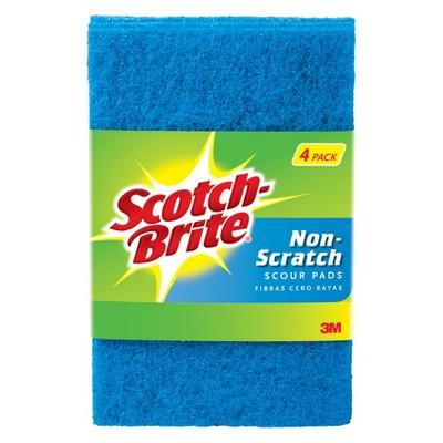 Scotch-Brite™ Scour Pad Non Scratch - 4pk