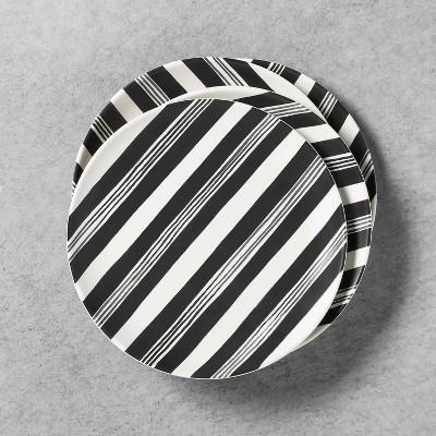 4pk Salad Plate Railroad Stripe - Hearth & Hand™ with Magnolia