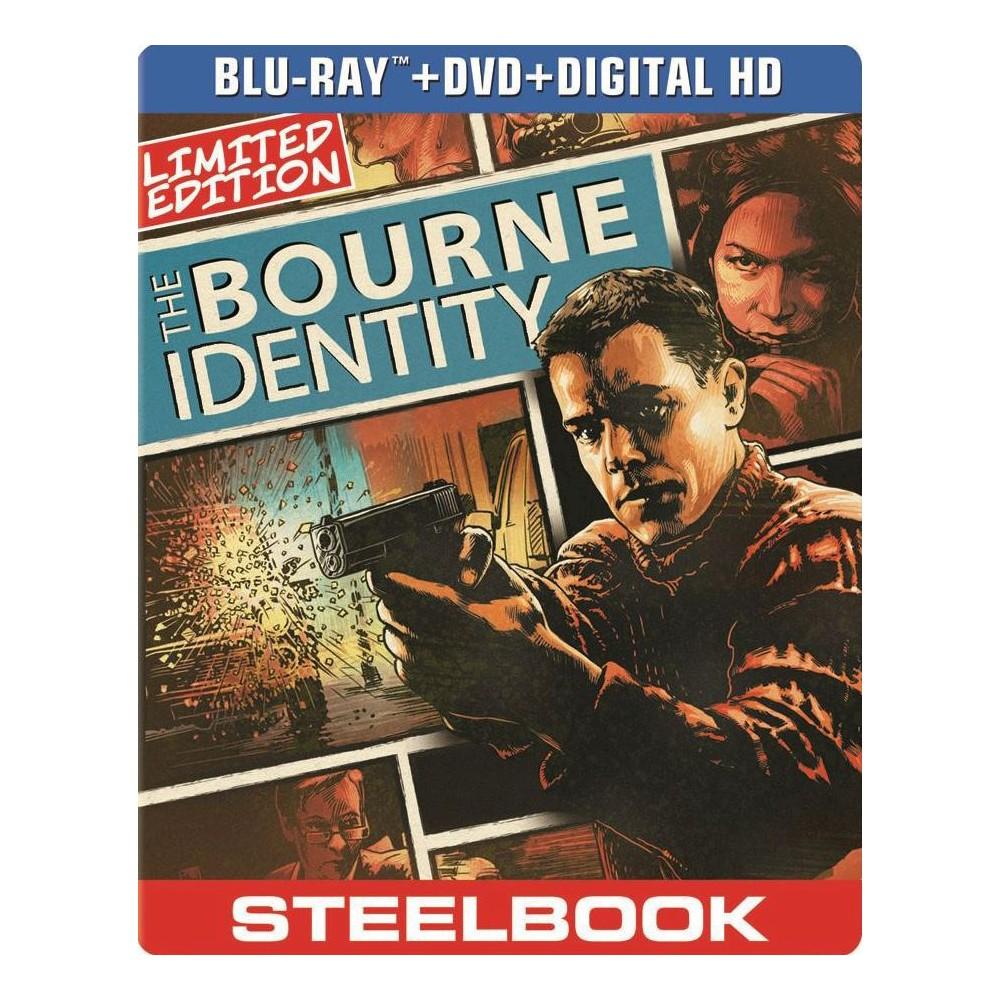 The Bourne Identity (2 Discs) (Includes Digital Copy) (UltraViolet) (SteelBook) (Blu-ray/Dvd)