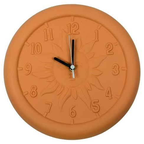 Poolmaster Terra Cotta Clock - Orange - image 1 of 3