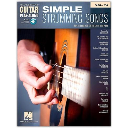 Hal Leonard Simple Strumming Songs - Guitar Play-Along Vol. 74 Book/Online Audio - image 1 of 1