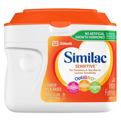 Similac 6pk Sensitive Infant Formula Powder with Iron - 22.5oz - image 1 of 7