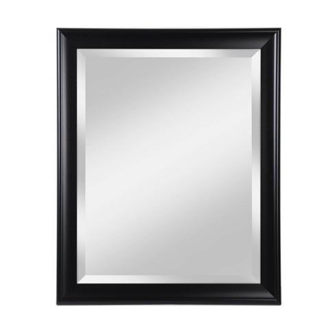 28 X 34 Symphony Deep Black Framed, Mirror Framed Mirror Target