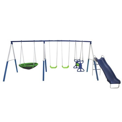 XDP Recreation All Star Outdoor Playground Backyard Kids Toddler Play/Swing Set