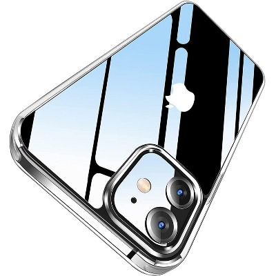 Letscom Crystal Clear Case for iPhone 12 & iPhone 12 Pro Anti-Yellowing, Corner Shockproof, Military Grade Protection Phone Case - Clear Ci121