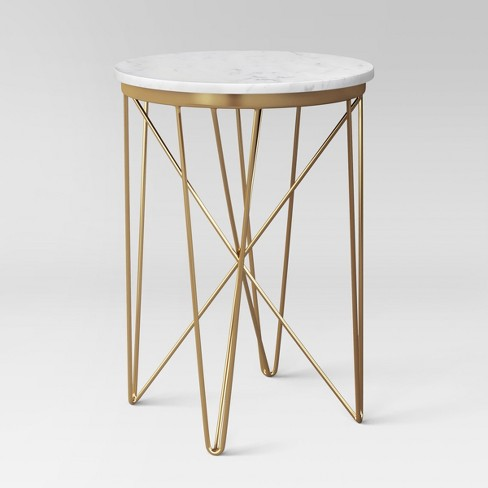 Marble Top Round Table Gold Project 62 Target