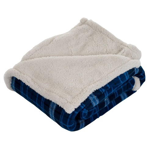 Yorkshire Home Fleece Sherpa Throw - image 1 of 3