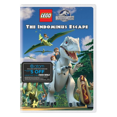 Lego Jurassic World: The Indominus Escape (DVD) - image 1 of 1