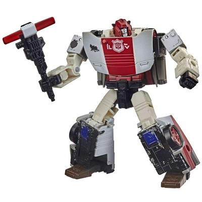 WFC-13 Autobot Red Alert Netflix Edition | Transformers Generations War for Cybertron Trilogy Action figures
