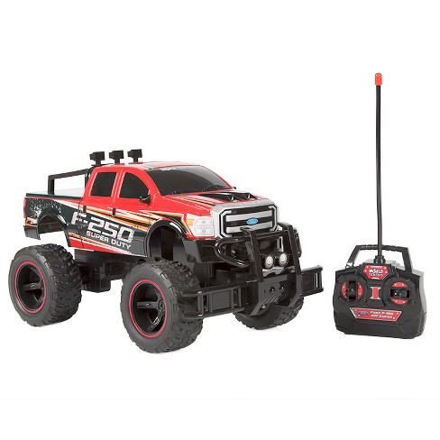 Ford F-250 Super Duty Electric RC Monster Truck 1:14 Red - image 1 of 1